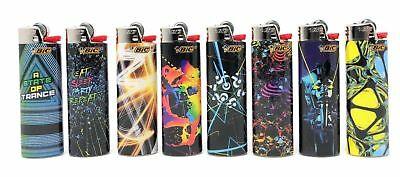 BIC Special Edition EDM Series Lighters, Set of 8 Lighters