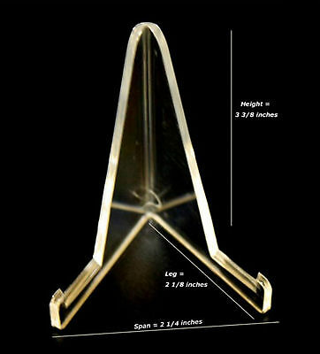 """3 Best Value 3-3/8"""" Display Stand Megalodon Shark Tooth Teeth"""