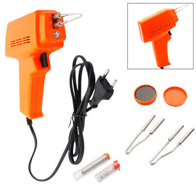 New Electric Soldering Iron Solder 100W Electric Soldering Gun Kit Durable Tips