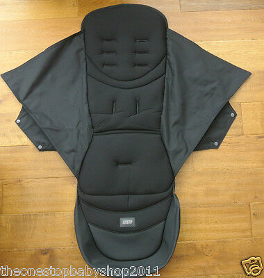Mamas and Papas ARMADILLO CITY BLACK REPLACEMENT SEAT COVER NEW