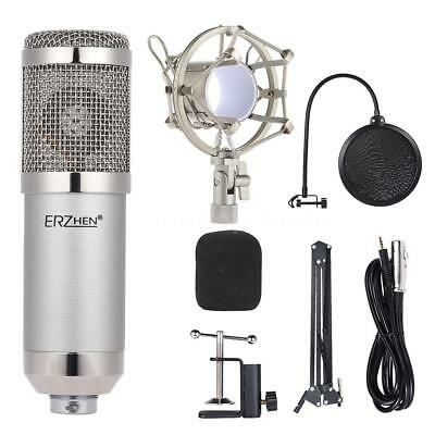 Professional Studio Broadcasting Recording Condenser Microphone Mic Kit Set M9G3