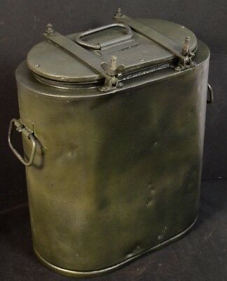 Genuine 1942 Ww2 German Essentrager Hot Food Rations Carrier With Waffenamt