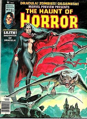 Marvel Preview #12 The Haunt Of Horror Magazine Vfn Condition