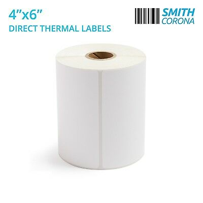 4x6 Direct Thermal Labels, 250/Roll - High Quality & Made In The USA
