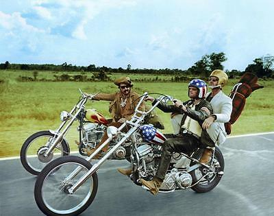 Easy Rider Peter Fonda Dennis Hopper 8X10 Glossy Photo Picture Image #2