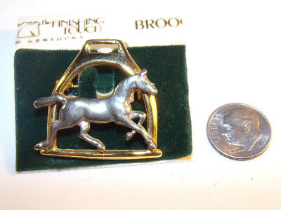 The Finishing Touch Of Kentucky Horse-Stirrup Pin