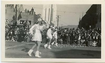 Steppin' Pretty MAJORETTES With Batons PASADENA CA Vintage 1941 Photo