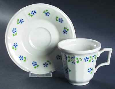 Iroquois PERIWINKLE Cup & Saucer 1862560