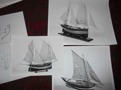 17 Vintage Reprint Photos Of Antique Boat Models & Designs From Science Museum