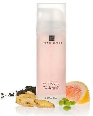 Temple Spa Go Figure Ant iCellulite & Slimming Gel 150ml New & Boxed