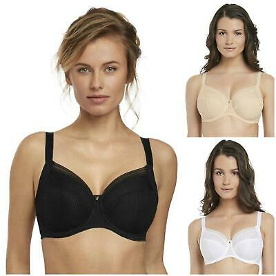 Fantasie Fusion Side Support Bra 3091 Non-Padded Underwired Bra New Lingerie
