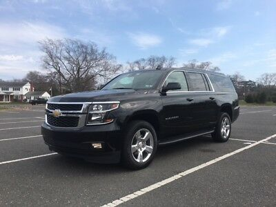 2017 Chevrolet Suburban LT 2017 CHEVROLET SUBURBAN LT 4x4,13k MILES,BLACK ON BLACK, LOADED, TITLE IN HAND