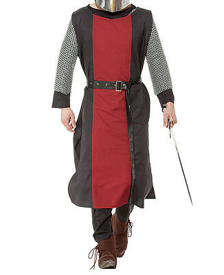 Castillian Tunic, Medieval, Two-Toned, Cosplay, LARP, Moors, Plus Sizes, SCA