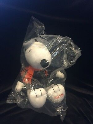 SF Giants Plush Snoopy Pilot 2015 - NEW IN PACKAGE - San Francisco Baseball