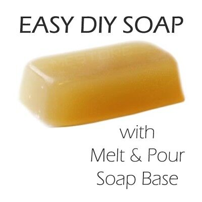 Melt and Pour Soap Base - ORGANIC 1kg