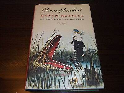 SWAMPLANDIA!--SIGNED by KAREN RUSSELL--1ST--HARDCOVER