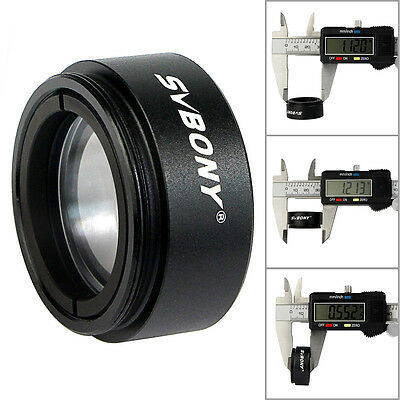 "SVBONY 1.25"" (31.7mm)0.5X Focal Reducer Thread M28x0.6 for Telescope Eyepiece"