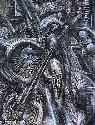 HR GIGER ART Poster Print NYC N.Y.C. XXVI 26 Demon ...