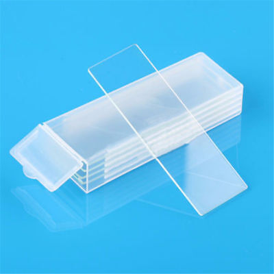 5PCS Concave Cavity Glass Coverslips Microscope Slides Thickness 1mm Lab Tools