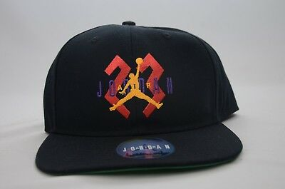 556ae8d6 ... greece nike air jordan retro 6 og jumpman 23 flight snapback hat 842599  010 nwt 40bdb