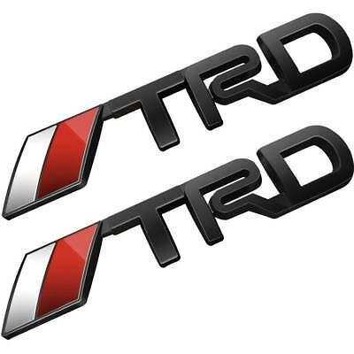 Auto Car 3D TRD Racing Metal Logo Emblem Sticker Decal Badge Trunk For Toyota