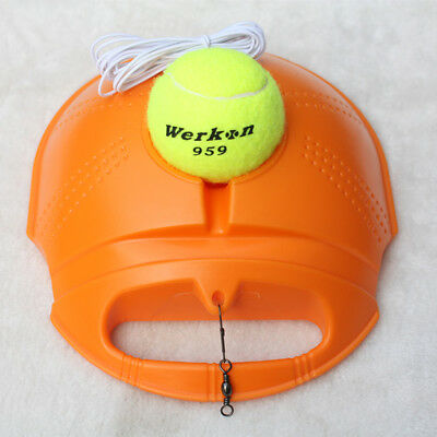 Tennis Ball Singles Training Practice Balls Back Base Trainer Tools With Ball