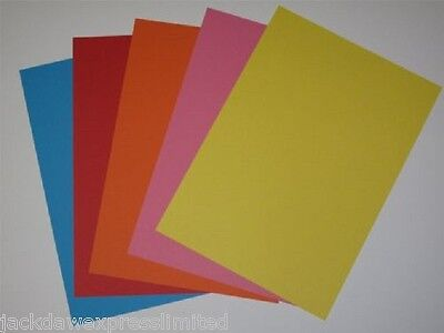 25 x A4 180gsm Deep Coloured Card for Cardmaking Crafts & Scrapbooking AM154