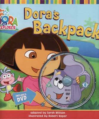 Dora's Backpack - Sarah Willson (book and CD)