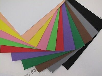 Foam Sheets 2pc Pk A4 2mm Thick for Arts & Craft 12 Colours to Choose Cardmaking
