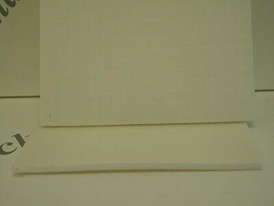 800 x White Foam Pads Self Adhesive Double Sided 5x5x3mm (1218)