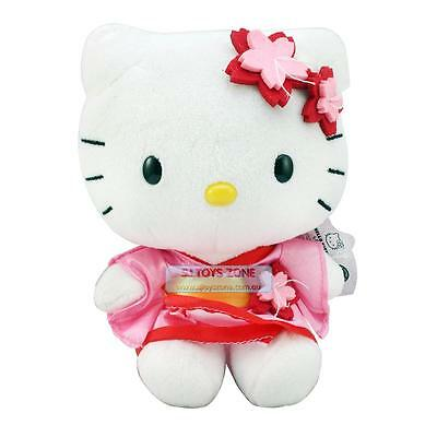 "Hello Kitty Japan Soft Plush Toy 6"" Cute Huggable Pal Girl Stuffed Animal Toy"