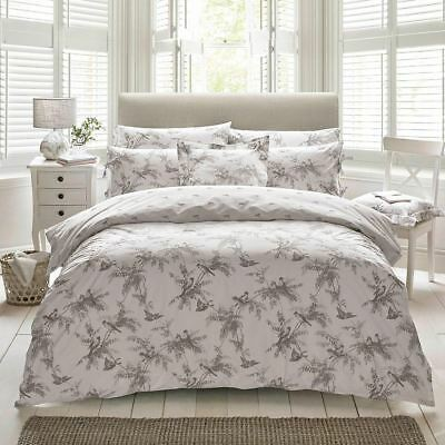 Holly Willoughby Fauna Double Duvet Cover Only - 100% Cotton Bedding Birds