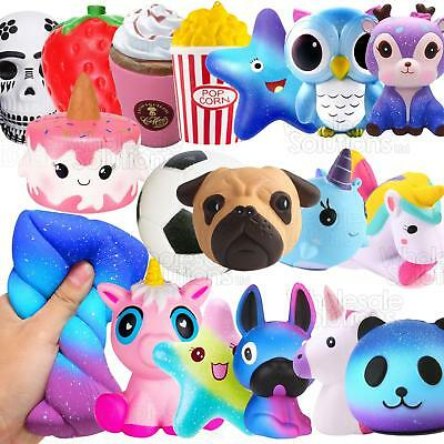 Jumbo Slow Rising Squishies Squishy Squeeze Kids Toy Stress Reliever Aid Mobile