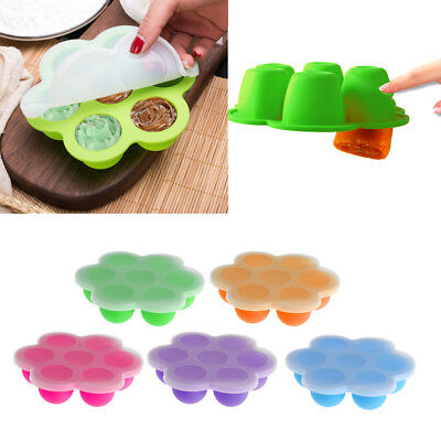 Infant Baby Food Container Fruit Breast Milk Storage Box Freezer Tray Crisper