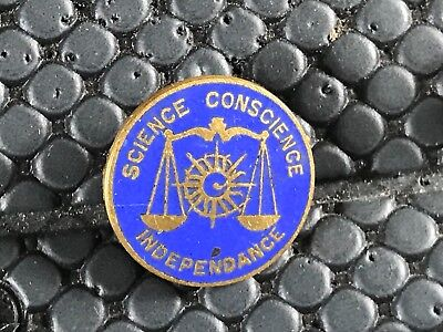 pins pin BROCHE  FALUCHE FALUCHARD SCIENCE CONSCIENCE INDEPENDANCE