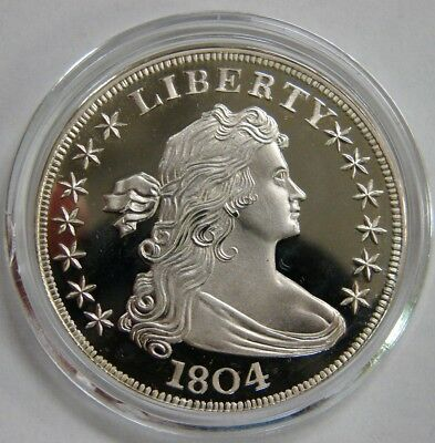 Gallery Mint Fantasy Token 1804 Silver Dollar - Proof Quality - In Capsule