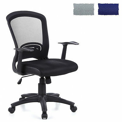 DESK OFFICE CHAIR SWIVEL FURNITURE ERGONOMIC RECLINING FLYER 10 MESH hjh OFFICE