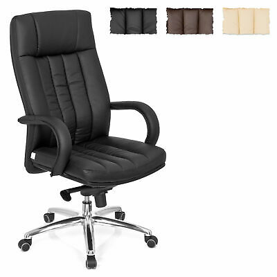 Heavy Chair 330lb Executive Chair XXL G 300 Faux Leather Office Chair hjh OFFICE