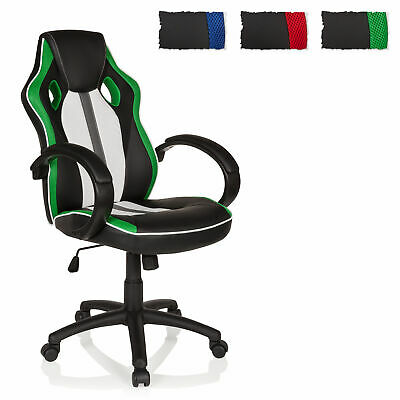 Executive Home Office Chair Sport Seat GAMING PLAYER Padded Armrests High Back