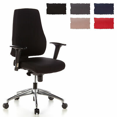 swivel office chair reclining seat ergonomic desk pro tec 200 fabric