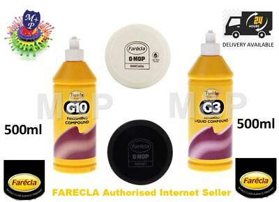 G3+G10 Kit G3 Advanced Liquid & G10 Finishing Compound, 1 x GMC606, 1 x GMF601
