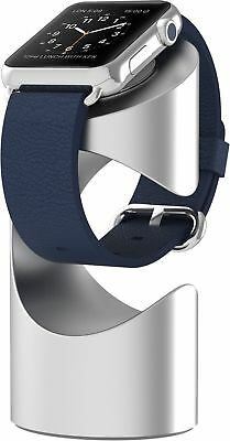 Just Mobile TimeStand Premium Aluminum Apple Watch Stand (ST-180SI) - Silver NEW