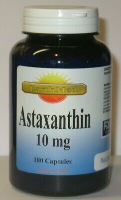 Astaxanthin Powerful Antioxidant Support 10mg 180 Capsules 6 month Supply USA