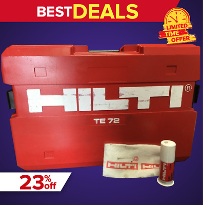 Hilti Te 72 (Case Only), Great Condition, Strong, Original, Quick Shipping