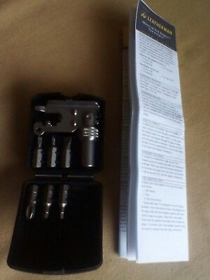 leatherman tool adapter adaptor in original box with instructions VGC