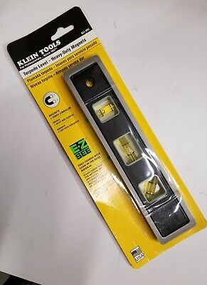"""Klein Tools Magnetic Torpedo Level 9"""" Heavy Duty Magnets Model"""