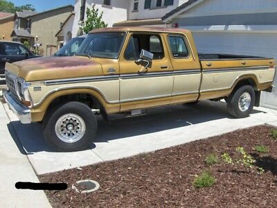 1979 Ford F-250  1979 Ford F-250 4x4, Super Cab, 32k original miles, calif. orig. paint, no rust