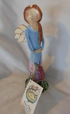 Blue Sky Clayworks Angel Figurine 2003 Heather Goldminc new w tags 8""