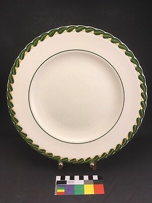 "Rare 10"" Dinner Plate - VERNON KILNS  - Philodendron Pattern California Pottery"