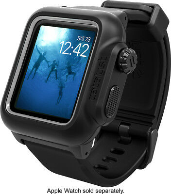 Authentic Catalyst Case Cover For Apple Watch 42mm Black (Series 2 & 3) In Box